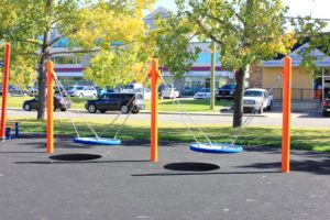 2000 days Daycare Calgary outdoor swings for children