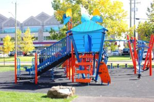 Calgary daycare school outdoor space for childrens play