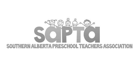 Logo for Southern Alberta Preschool Teachers Association